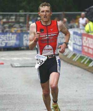 Robin Dowswell Triathlete